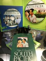 SOUTH PACIFIC 2 DVD CE Rodgers  & Hammerstein Beautiful Green Case & Insert 1958
