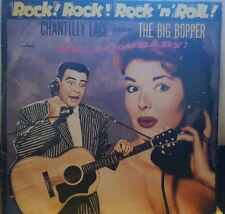 "BIG BOPPER ""Rock: Chantilly Lace"" 12"" MERCURY LP is in very good condition"