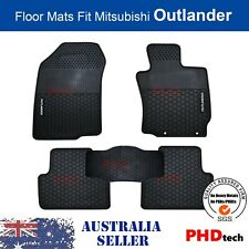 MITSUBISHI Outlander 2012-Current Tailored All Weather Rubber Car Floor Mats
