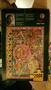 Heye Jigsaw Robin Hood 2000pc