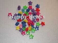 Bird Toy Star Shaped Pony/Spacer Beads - Happy Beaks