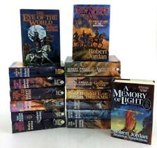 Robert Jordan WHEEL OF TIME Series PREMIUM HARDCOVER COLLECTION 1-14 & Prequel