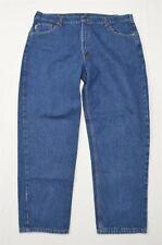 Carhartt 42 x 30 Straight Dark Wash Cotton Denim Jeans