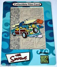 The SIMPSONS Promo Collectible Film Card
