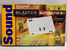 Creative Sound Blaster Surround 5.1 24bit Home Cinema Surround Sound Boxed
