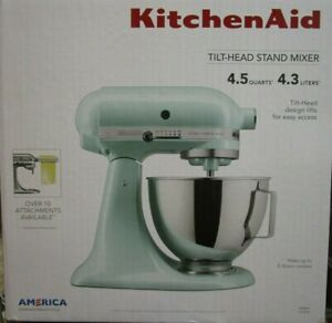 KitchenAid 4.5 Qt. Tilt-Head Stand Mixer KSM96IC Ice BRAND NEW