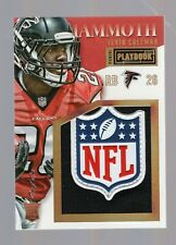 2015 Panini Playbook Tevin Coleman RC Rookie Mammoth NFL Shield #1/1