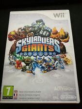 Skylanders Giants Nintendo Wii Game Wii U Boxed Complete