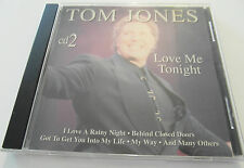 Tom Jones - Love Me Tonight / Cd 2 (CD Album) Used very good