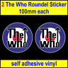 The Who RAF Roundel Mod Target Vespa Lambretta Scooter sticker car Decal toolbox