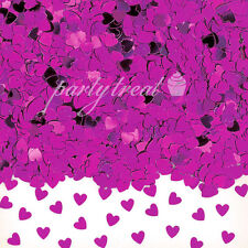 Purple Hearts Wedding Confetti Party Supplies Wedding Table Scatters Decorations
