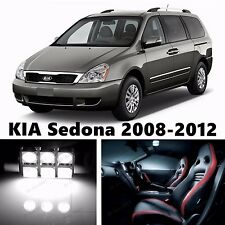 13pcs LED Xenon White Light Interior Package Kit for KIA Sedona 2008-2012