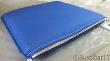 New John Lewis 100% Olefin Lapis Blue Neptune Padded Outdoor Garden Seat Cushion