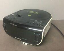 Sony Dream Machine Am/Fm Stereo Cd Clock Radio with Dual Alarm