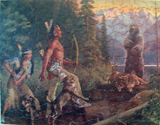 Vintage Tuco Puzzle ~ Challenged ~ Complete ~ Hinton ~ American Indians