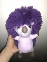 "10"" FERDINAND Movie Una the Hedgehog Plush Stuffed Toy Factory Purple Doll Cute"