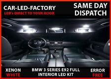 LED UPGRADE LIGHTING INTERIOR BMW E92 3 SERIES 2004-2009 18 BULB XENON WHITE
