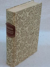 Goethe WILHELM MEISTER'S APPRENTICESHIP Limited Editions Club 1959 #1337 SIGNED