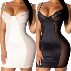 Women Sexy Lace Erotic Lingerie Babydoll Bodysuit Underwear Leotard Nightwear