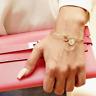 Pulsera brazalete Bracelet Gold Rose Silver Plata Oro Rosa Letra Inicial Nombre