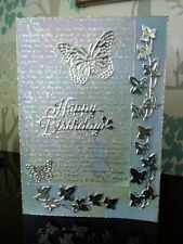 Beautiful handmade  unique Birthday Card.