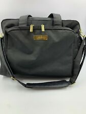 Jujube Diaper Bag Large Black Adjustable Strap Footed Bottom Pockets NO PAD READ