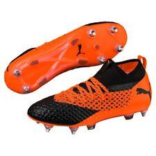 Puma Future 2.2 Netfit MX SG Scarpe da Calcio Uomo Nero Blackshocking Orange