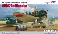 "A5M2b ""Claude"" IJN Type 96 Carrier-Based Fighter II early 1/48 Wingsy Kits D5-03"