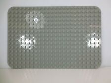 LEGO DUPLO Base Plate Baseplate 24 X 16 Peg No. 6475 Gray
