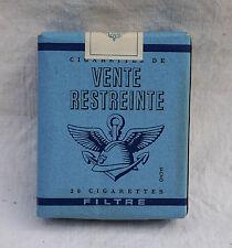Paquet de Cigarette Gauloises TABAC de TROUPE Vente Restreinte Neuf! Militaire