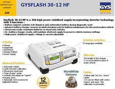 GYS 12V LIQUID OR GEL SHOWROOM CAR BATTERY CHARGER UNIT INVERTER TECHNOLOGY