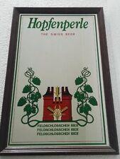 Hopfenperle Swiss Beer, specchio pubblicitario