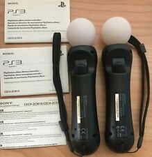 N.2 CONTROLLER MOVE SONY PLAYSTATION 4 / PLAYSTATION 3 PS3 PS4 Originale Sony