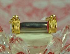 Real Green LEKLAI Capsule Lek lai Top Takrut LP Huan Thai Buddha Amulet Pendant