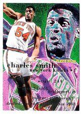 Charles Smith 1995 Fleer New York Knicks NBA Insert Basketball Card