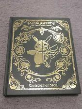 Pokenatomy Unofficial Pokemon Anatomy Guide Book - Chris Stoll Leather Version