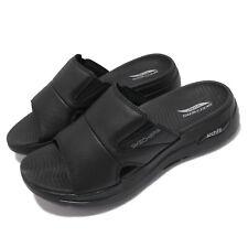 Skechers Go Walk Arch Fit Sandal-Ultra Span Black Men Slip On Sandal 229023-BBK