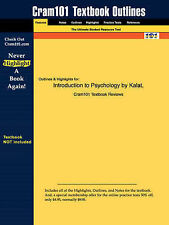 Introduction to Psychology, 7th Edition Kalat | Paperback Book | New | 978142880