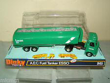 "DINKY TOYS "" PROMOTIONAL"" MODEL No.945 A.E.C. 'LUCAS' FUEL TANKER  VN MIB"