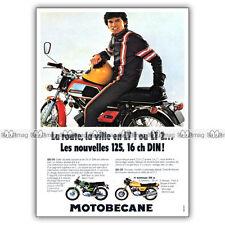 PUB MOTOBECANE 125 LT 125LT LT1 & LT2, 350 CC - Ad / Publicité Moto de 1974