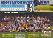 WEST BROMWICH ALBION FOOTBALL TEAM PHOTO>1991-92 SEASON
