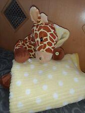 Kuscheltier Giraffe mit Decke Baby 80x120 ? *top*