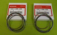 HONDA BROS NT400J NT400K NT400L NC25 RING SET STD. 13011-KW0-305 JAPANESE V-TWIN