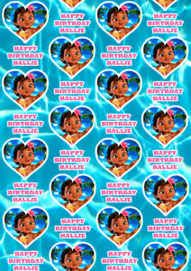 BABY MOANA Personalised Gift Wrap - Disney's Moana Wrapping Paper