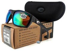 New Costa Del Mar HAMLIN 580P Polarized Sunglasses   Matte Black / Green Mirror