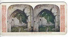 Interior of Muckross Abbey, Ireland, Vintage Stereoview