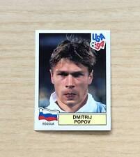 "FIGURINE PANINI ""USA '94"" - N°119  DMITRIJ POPOV - RUSSIA - NUOVA - NEW STICKER"