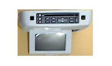 Ford overhead video rear entertainment system. DVD and LCD display screen. Gray