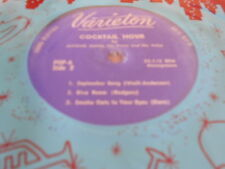 """7"""" coktail Hour by michael dunn,EP, the last time i saw paris **"""