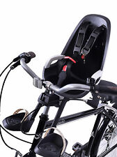 HAMAX CARESS OBSERVER MINI FRONT CHILD BIKE SEAT 15KG MAX GREY/WHITE QUILL FIT